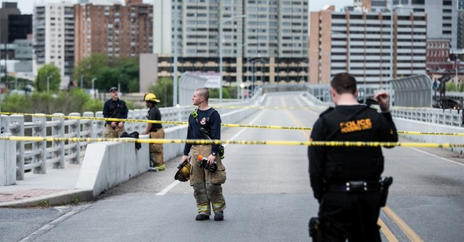 The Latest: Pennsylvania bridge reopens after wall collapse