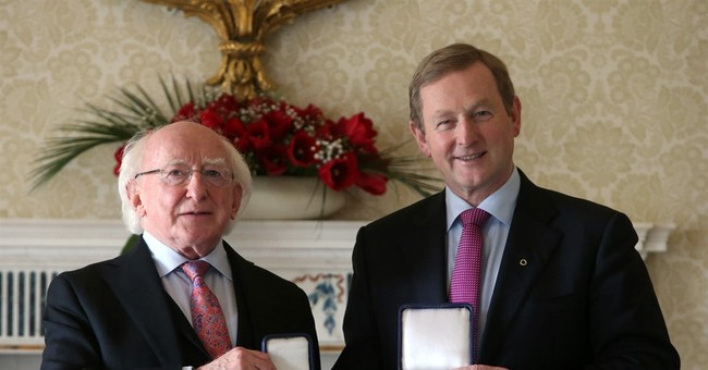 Irish Prime Minister Kenny re-elected after 70-day deadlock
