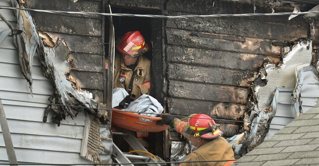 6 relatives, including 4 kids, found dead in burning NY home