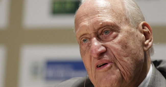 Havelange turns 100 in Rio; plans to attend Olympics
