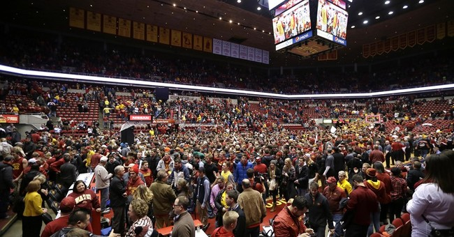 Courtside seats at Iowa State games are a perk for lawmakers