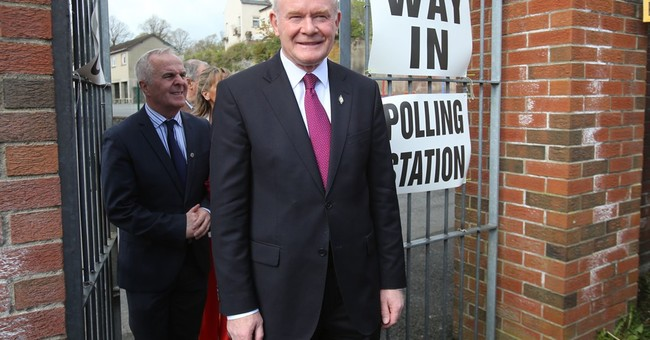 Catholic, Protestant blocs seek gains in N. Ireland election