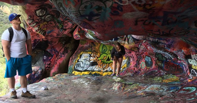 Mythical Morrison cave closed over Doors-inspired graffiti