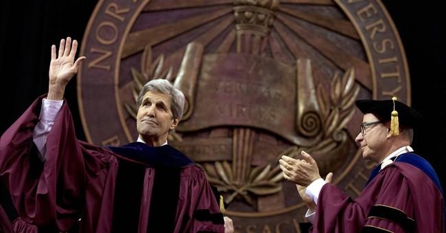Kerry: Diverse graduating class is 'Trump's worst nightmare'