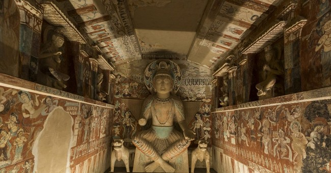 LA's Getty Center recreates China's Cave Temples of Dunhuang