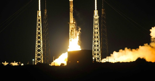 SpaceX lands rocket at sea 2nd time after satellite launch