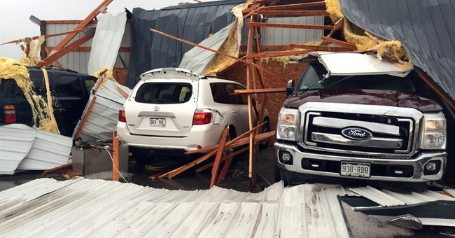 The Latest: Tornadoes cause injuries, damage in Colorado