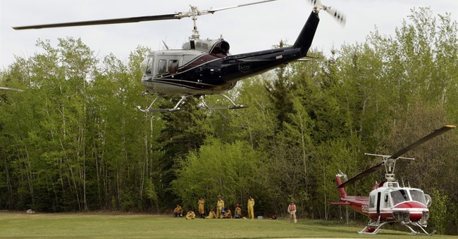 Officials hope to complete Alberta wildfire evacuation