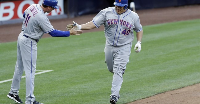 Almost 43, Colon becomes oldest to hit 1st major league HR