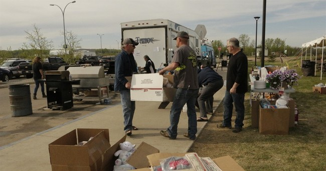 Wildfire evacuees get supplies, support at evacuation center