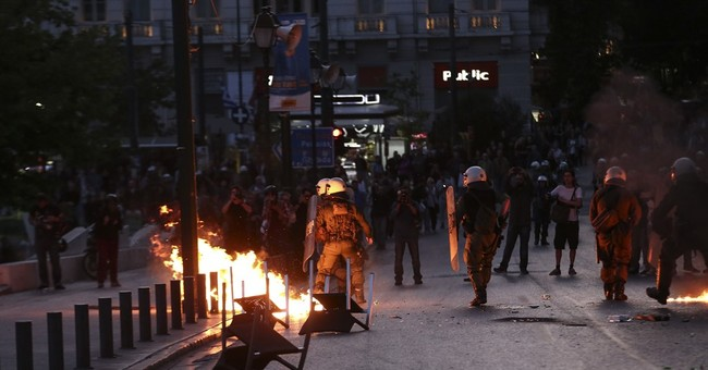 Greek Parliament passes pension, tax reform bill