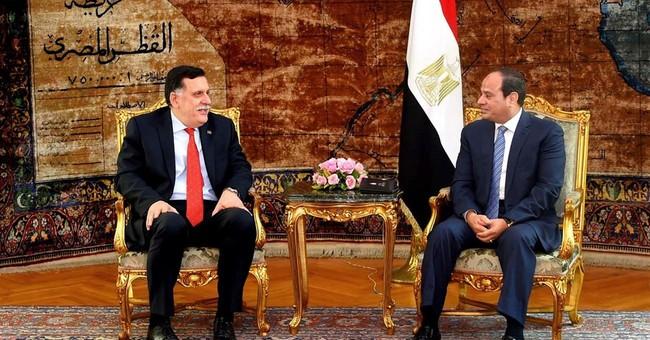 Libya premier urges lifting of arms embargo, asset freeze