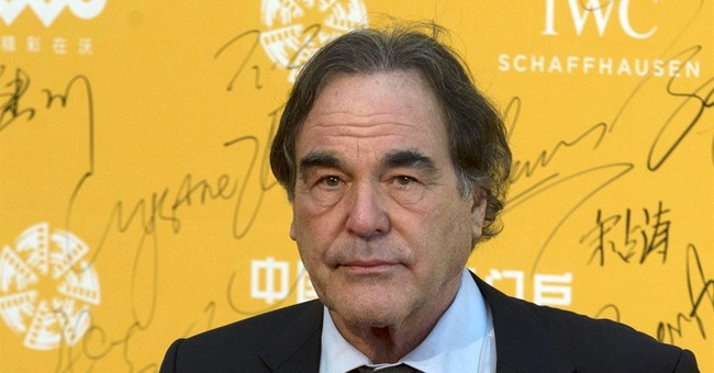 Oliver Stone speaks of college failures during UConn address