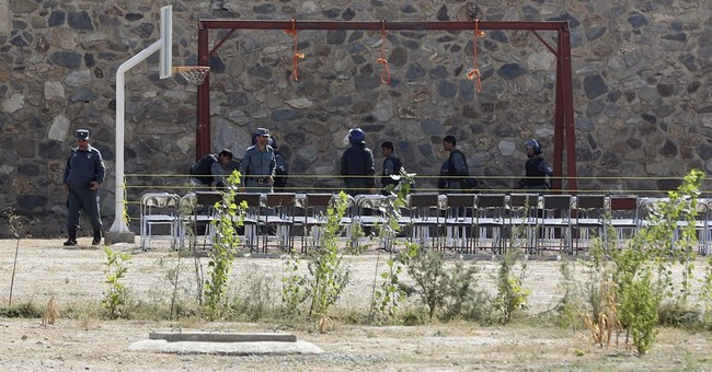 Afghanistan executes 6 militants, signaling tougher policy