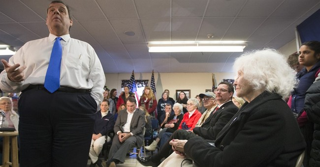 Christie warns voters: Don't elect a first-term senator