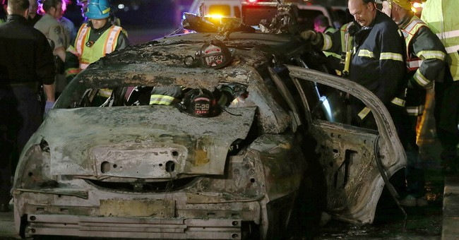 Limousine involved in fire that killed 5 nurses recalled