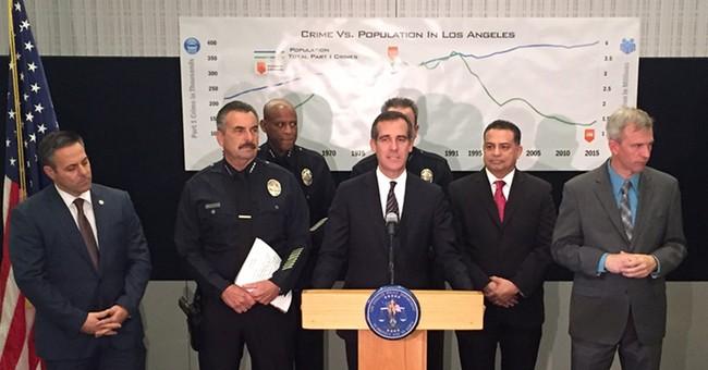 Crime up across board in LA; homicides, rapes rise 9 percent
