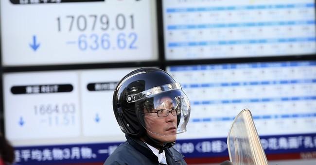 Asian stocks sink as weak oil, Wall Street weigh