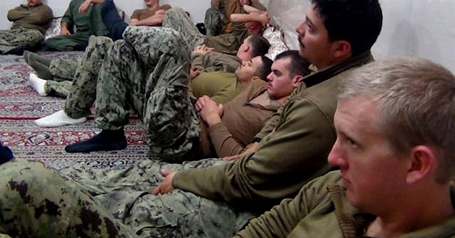 The Latest: Iran state TV broadcasts US sailors 'apology'