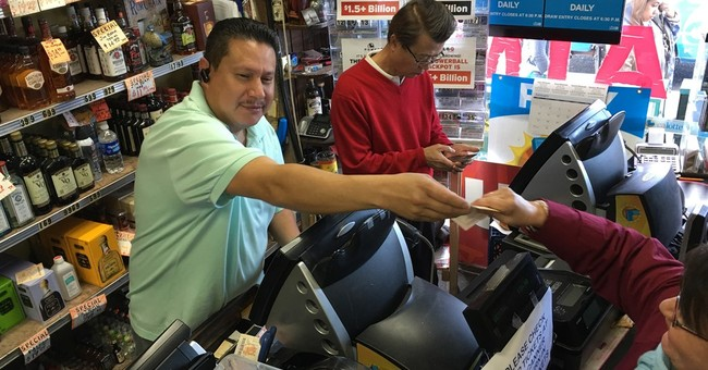 AP News Guide: A look at the record Powerball drawing