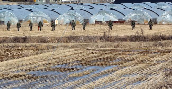 S. Korea fires warning shots after North Korean drone seen