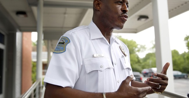 The Latest: New Ferguson police chief sworn in