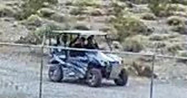 Authorities seek men over damaging Death Valley binge
