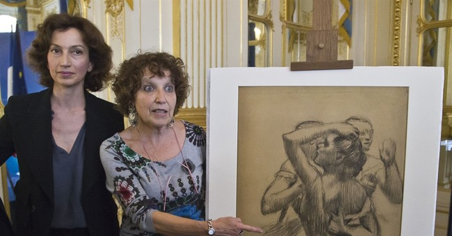 France restores Nazi-stolen Degas drawing to rightful owners