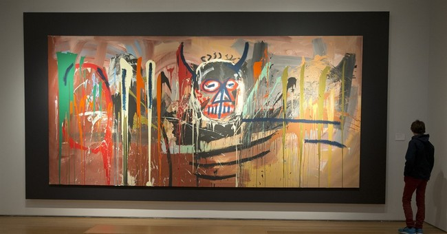 Basquiat sets artist record at Christie's sale at $57.3M