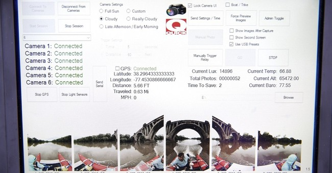 Camera boat's river map will be like a 'Google Street View'
