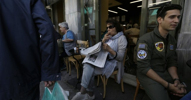 Greek markets buoyed as Europe weighs debt-easing measures