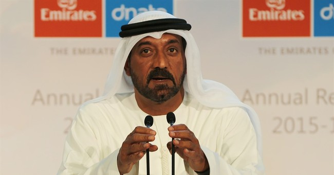 Emirates airline says profits are up amid lower oil prices