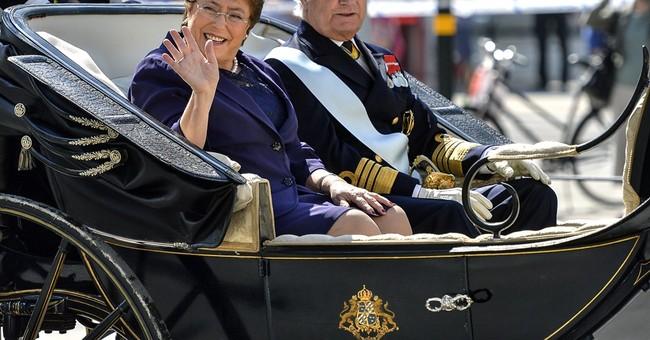 Bachelet thanks Sweden for help during dictatorship