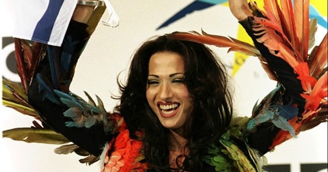 AP PHOTOS: Weird and wonderful moments at Eurovision