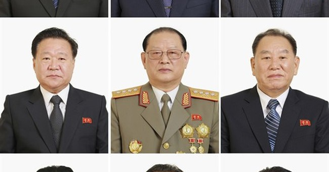 N. Korea offers particularly good look at Kim, other leaders