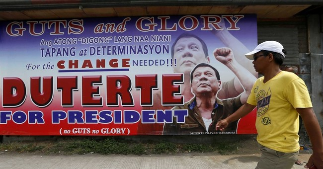Policy utterances from Philippines' likely next president