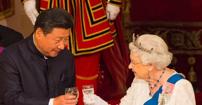 The Latest: China's foreign ministry on queen's remarks