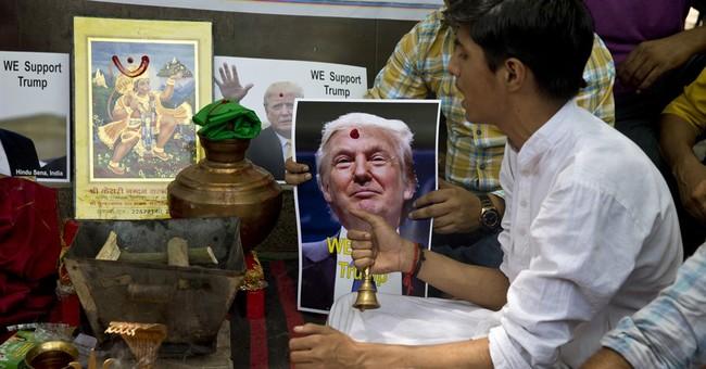 Divine intervention? Indian Hindus ask gods to help Trump