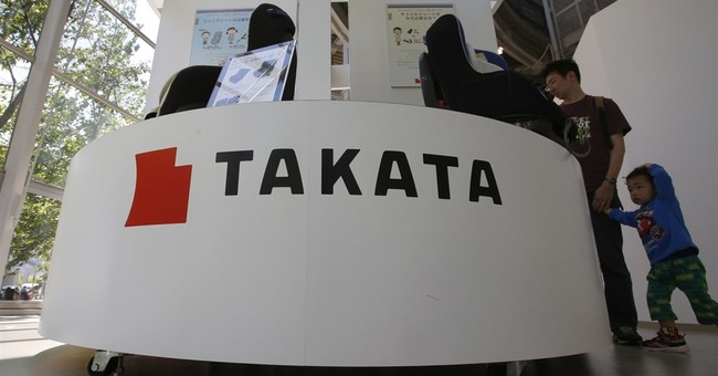Takata logs second year of red ink, expects return to profit