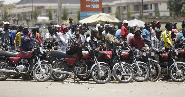 Nigeria lifts gas subsidy, nearly doubling the price of fuel