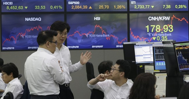 Markets Right Now: Stock markets follow oil price lower