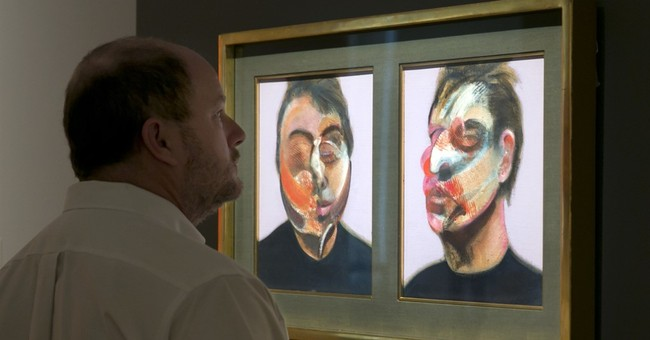 The Latest: Francis Bacon, Twombly artworks fetch $71M in NY