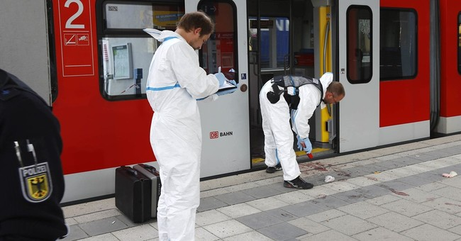 German train station assailant sent to psychiatric hospital