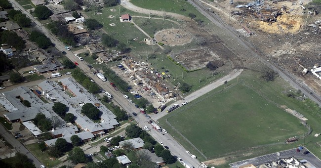 The Latest: ATF: Intentionally set fire caused Texas blast