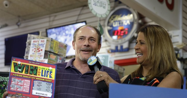 'This is impossible:' New York man wins his 2nd $1M lottery