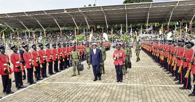Ugandan president inaugurated amid opposition arrests