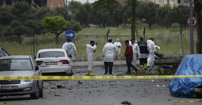 Official: 4 Kurdish rebels killed in blast in Turkey