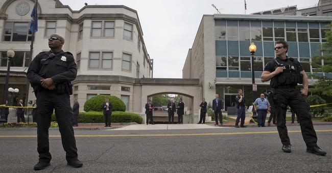 AP PHOTOS: Highlights of Donald Trump's day in Washington