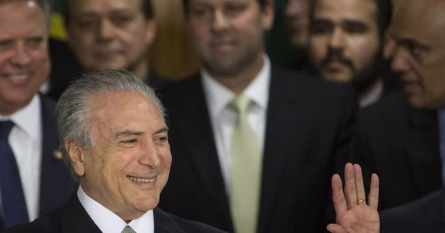 Brazil's acting president promises to jumpstart economy