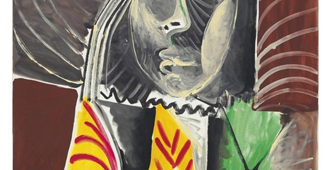 The Latest: Kahlo work sets auction record for artist